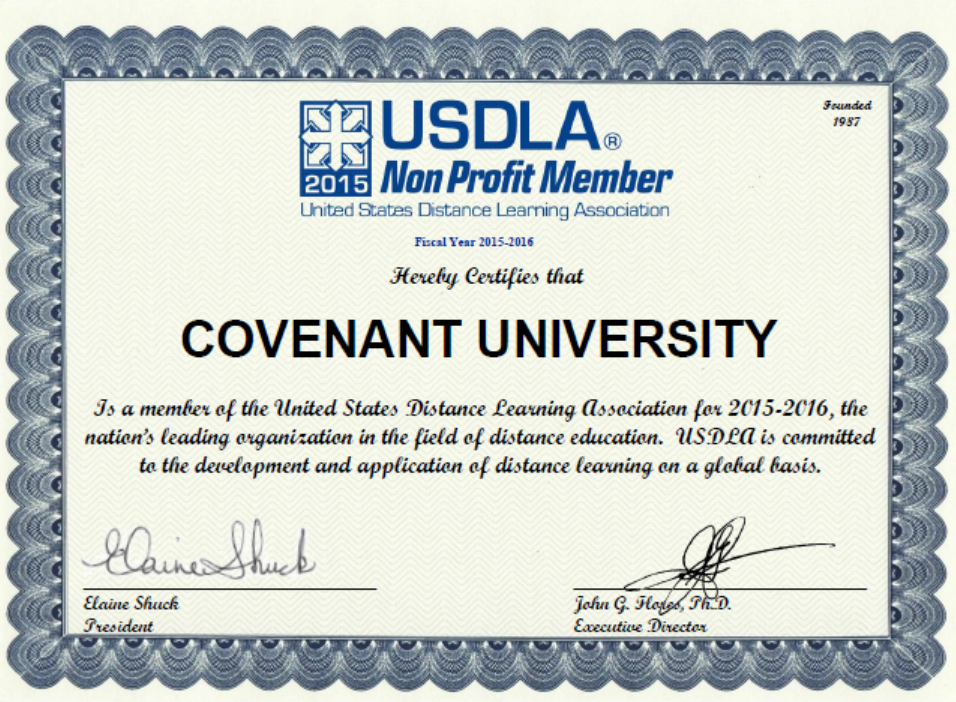 membership - covenant university